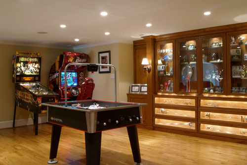 Finished Basement in Schaumburg